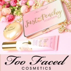 "TOO FACED- ""Just Peachy"" Matte Eyeshadow Palette"
